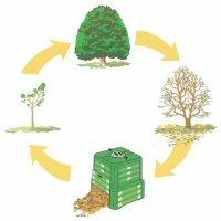 Kompostowanie  - obieg materii